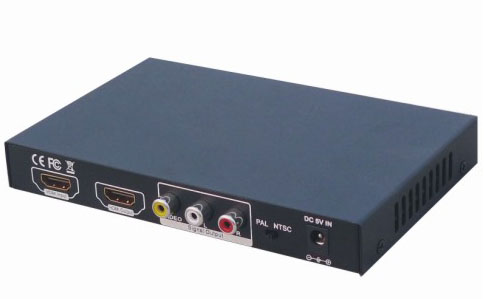 HDMI to CVBS and HDMI Converter 1107